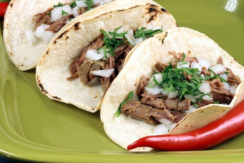 Taquitos Mexikanerart lizenzfreie stockbilder