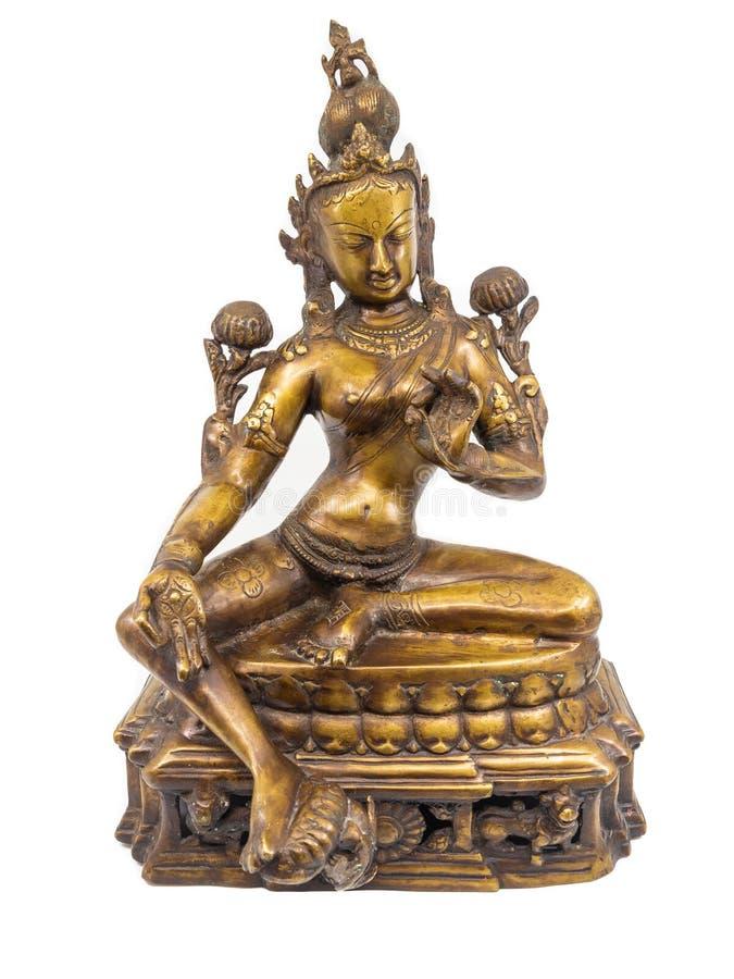 Tara bogini statua obraz royalty free