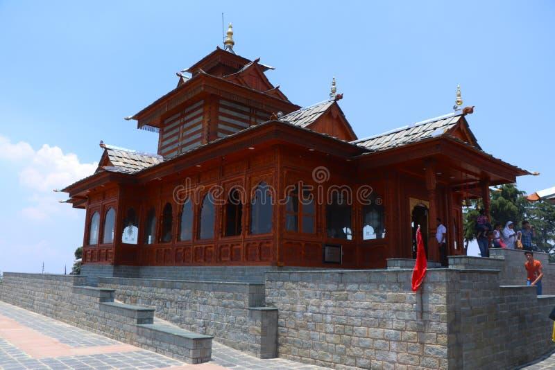 Tara Devi Hindu Temple stock foto