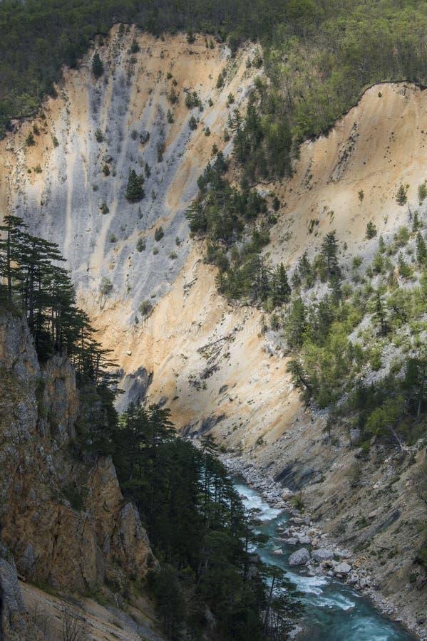 Tara River Canyon foto de archivo libre de regalías