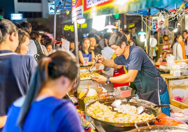 Tarad Rotfai, Bangkok, Thailand stock afbeelding