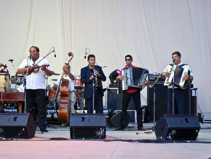 Taraf De Haidouks In Concert royalty free stock photo