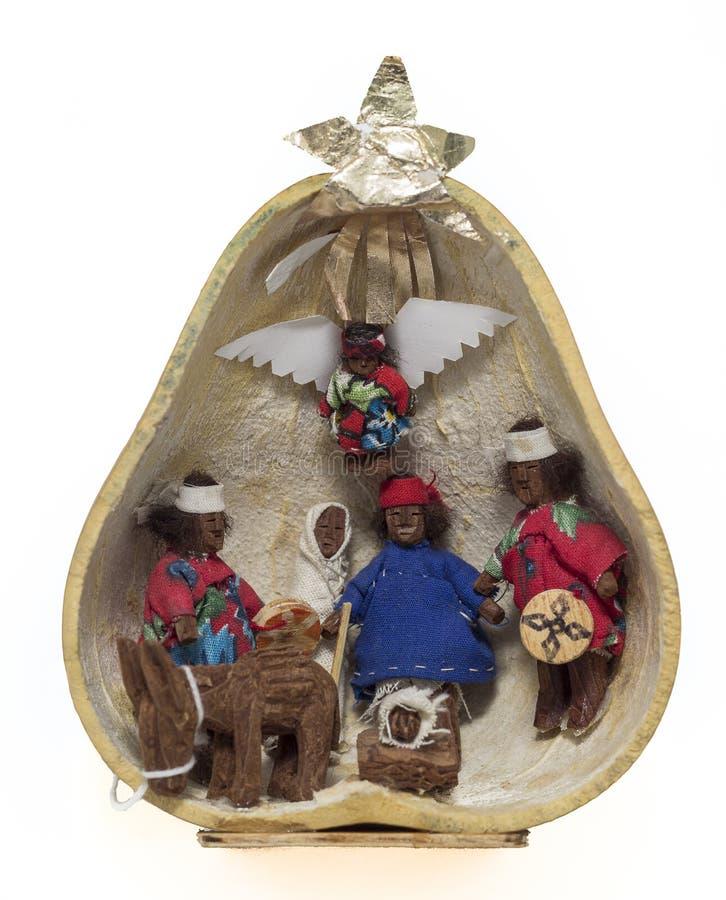 Tarahumara-Krippe stockfoto