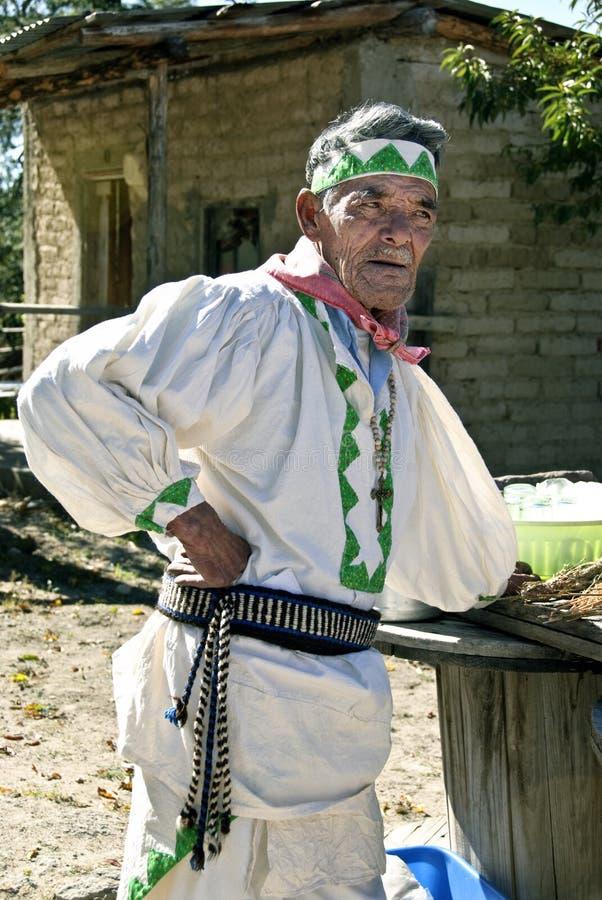 Tarahumara Man, Mexico royalty free stock image
