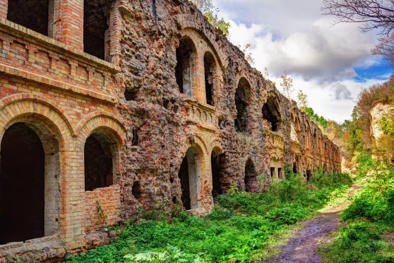 Tarakanivsky fortress royalty free stock photos