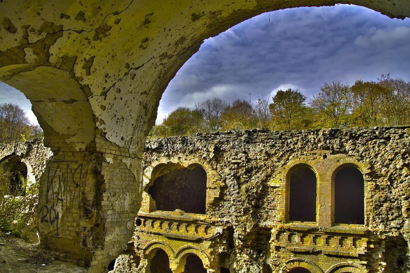 Tarakanov Fort Royalty Free Stock Images