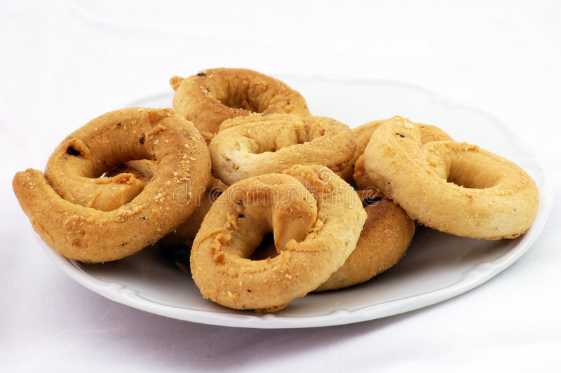 Taralli fotos de stock