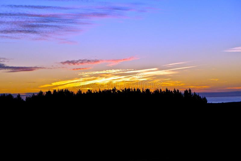 Download Taranaki sunset stock image. Image of sunset, summer - 92633935