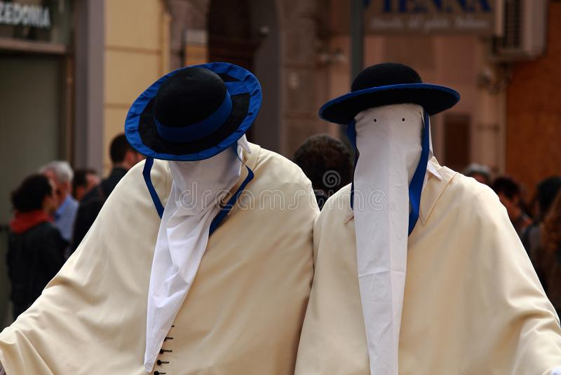 TARANTO wielkanocy folklor obrazy royalty free