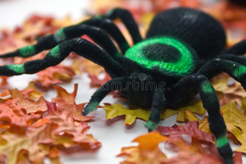 Tarantula - Halloween Toy royalty free stock photography