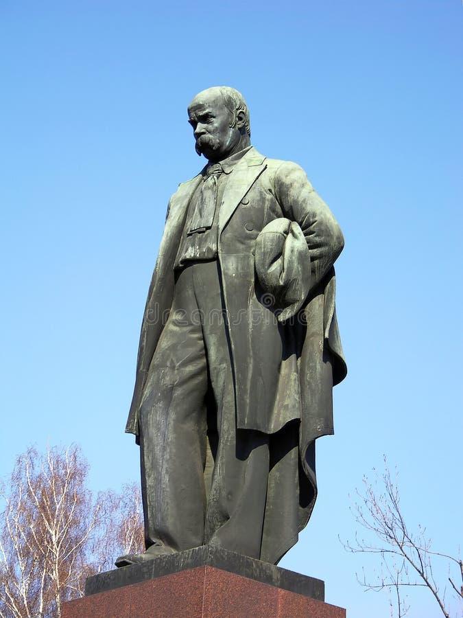 Taras Shevchenko monument. Kiev, Ukraine stock photos