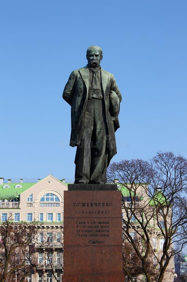 Taras Shevchenko monument. Kiev, Ukraine stock images