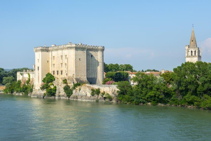 Tarascon, κάστρο στοκ εικόνα