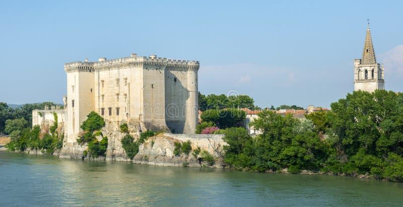 Tarascon, château image libre de droits
