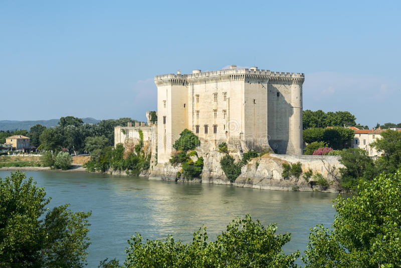 Tarascon, château photos libres de droits