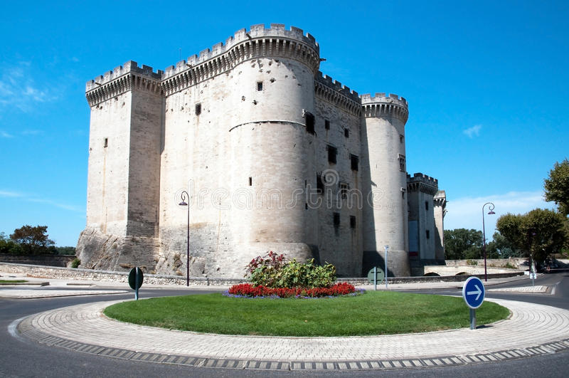 tarascon de la France de château photos libres de droits