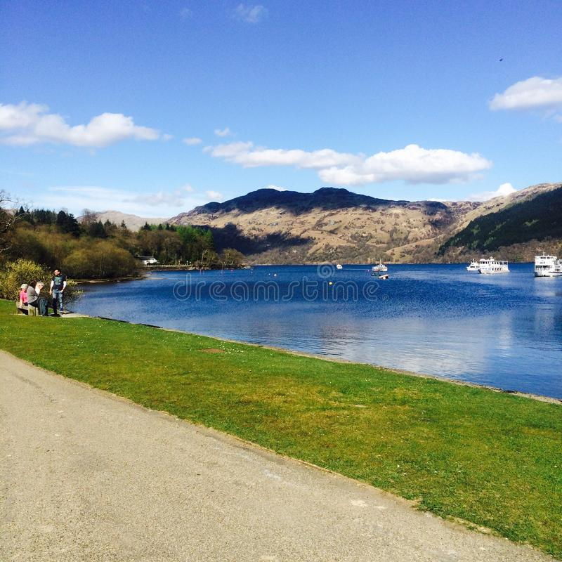 Tarbet, Loch Lomond stock photos