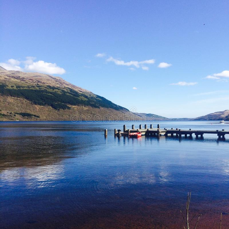 Tarbet, Loch Lomond royalty free stock photo