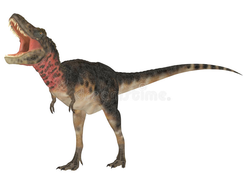 Tarbosaurus illustration de vecteur