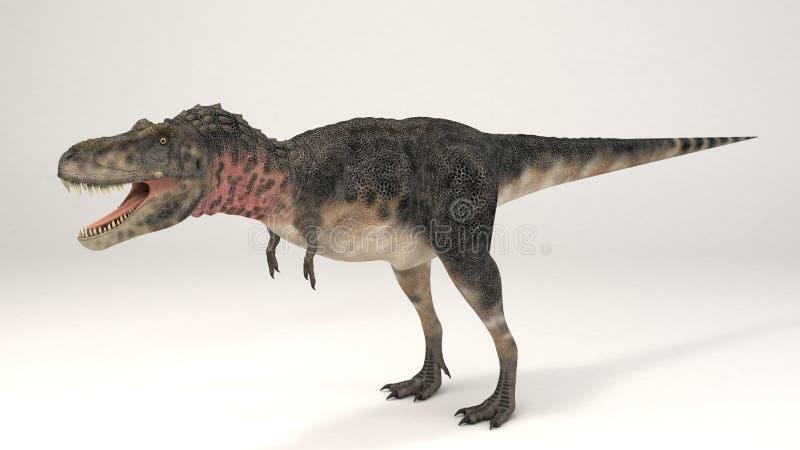 Tarbosaurus-Dinosaurier stockfotografie
