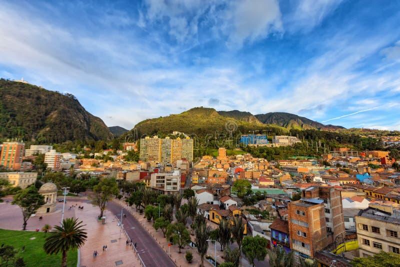 Tarde de Bogotá fotos de archivo