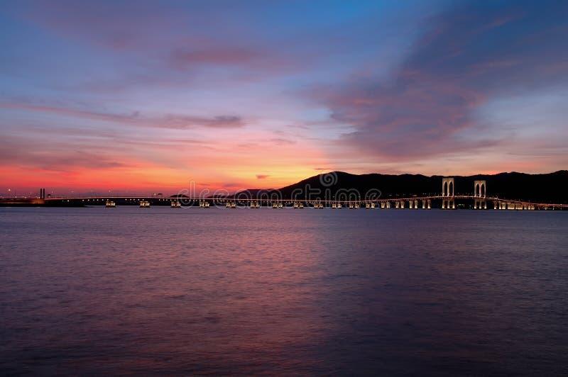Tarde de Macau imagenes de archivo