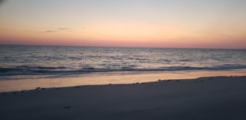 tarde desapasible del verano por la playa fotografía de archivo libre de regalías