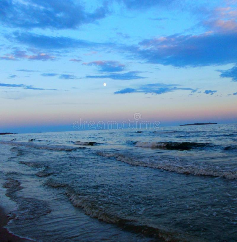 tarde en el Mar Negro fotografía de archivo libre de regalías