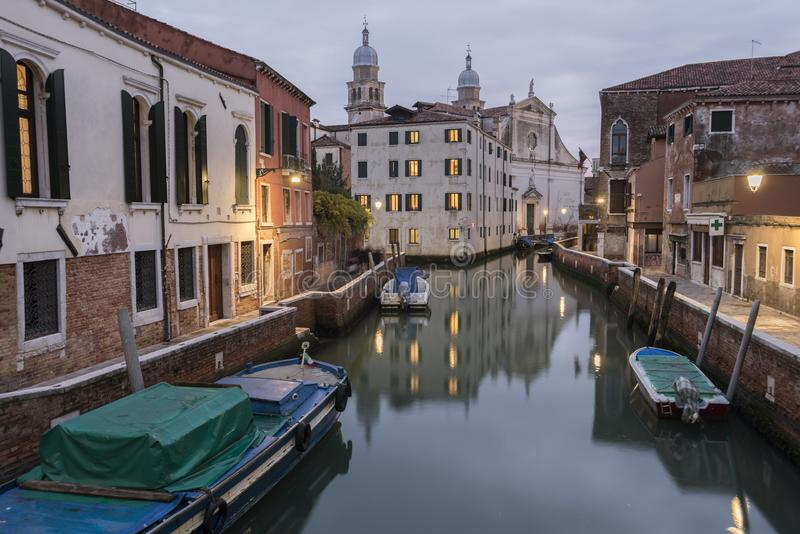 Tarde en Venecia foto de archivo libre de regalías
