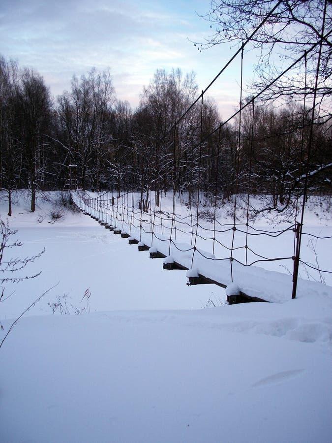 Tarde hivernal foto de archivo libre de regalías