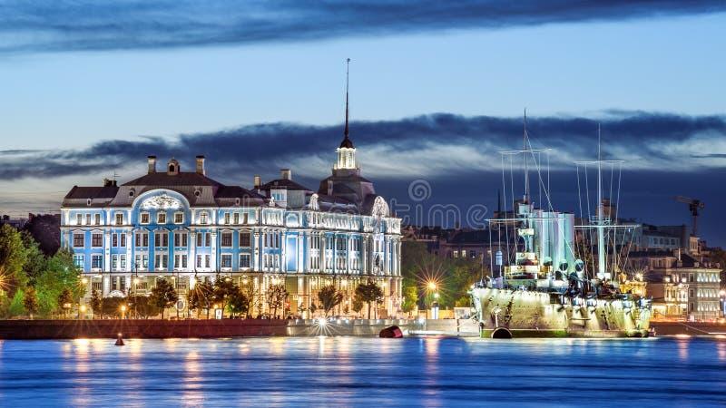 Tarde Petersburgo fotografía de archivo libre de regalías