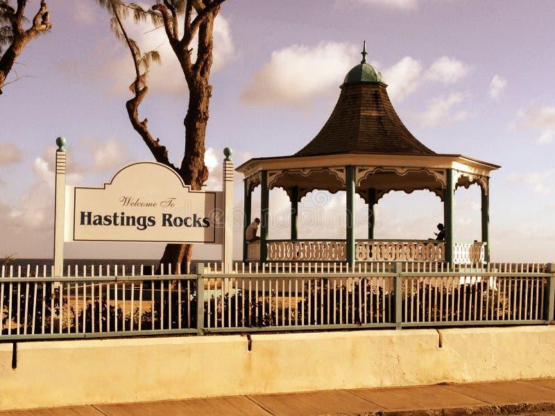 Tarde reservada en Hastings foto de archivo
