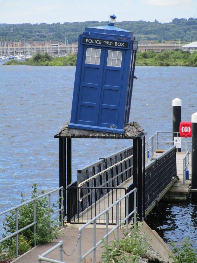 TARDIS royalty free stock photo