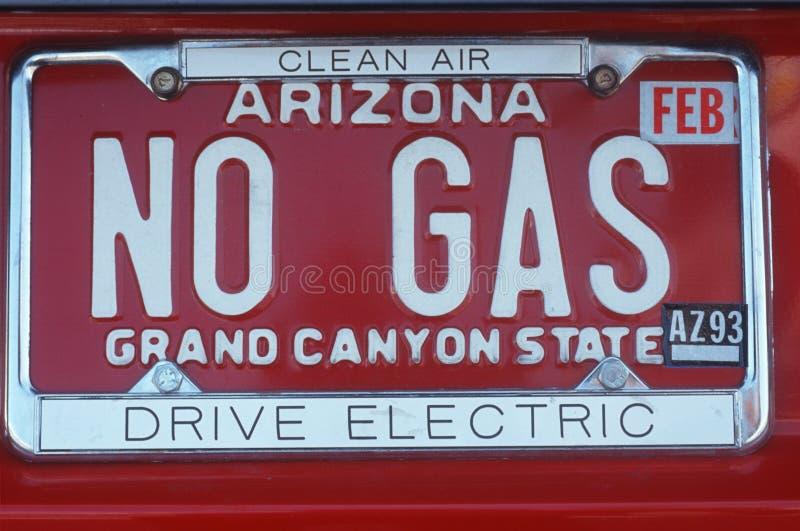 Targa di immatricolazione di vanità - Arizona fotografia stock