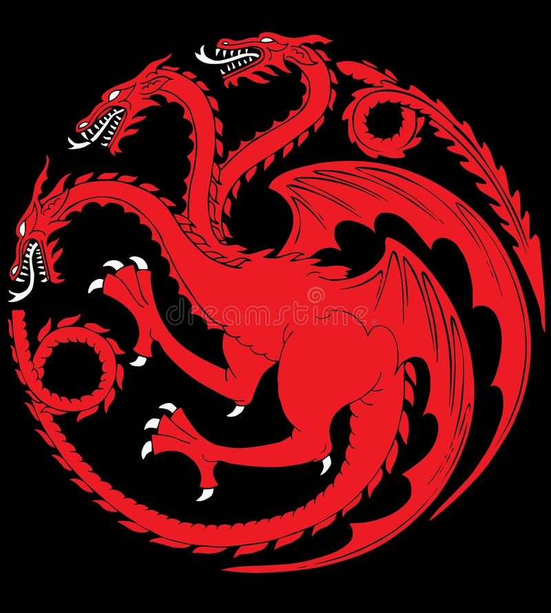 Targaryen house. Game of Thrones George R.R. Martin`s best-selling book series `A Song of Ice and Fire` is brought to the screen as HBO sinks its considerable