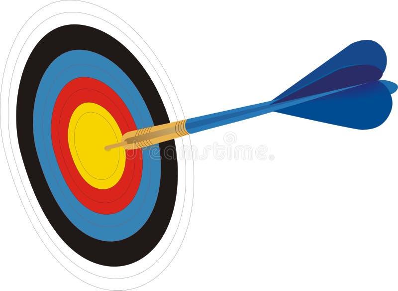 Download Target stock vector. Image of illustration, board, games - 20601704
