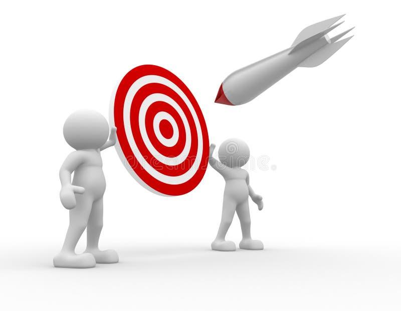 Download Target stock illustration. Illustration of champion, icon - 22115904