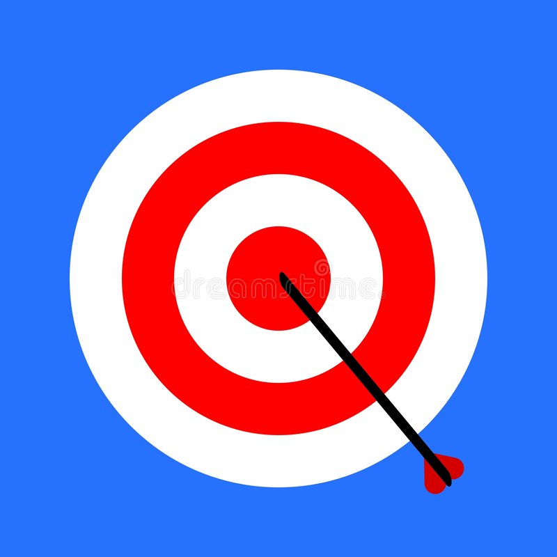 Download Target stock illustration. Image of arrows, illustrations - 7334669