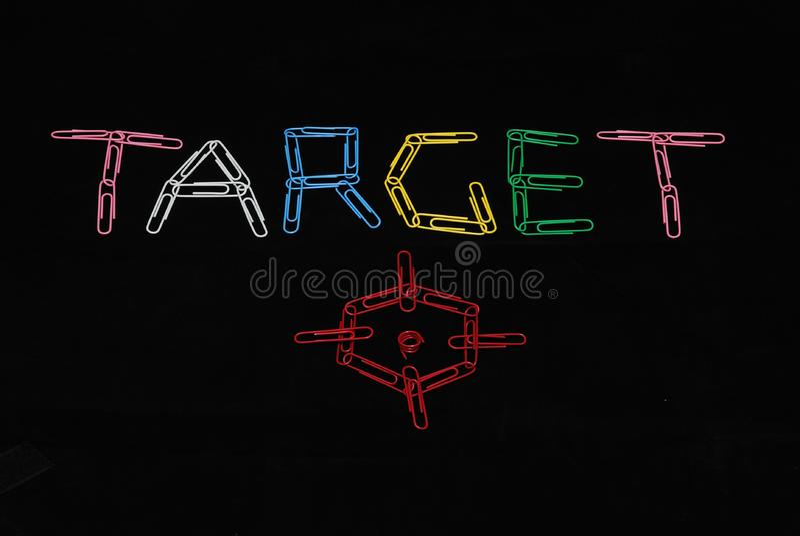 Download Target stock image. Image of concepts, black, binder, sports - 7828321