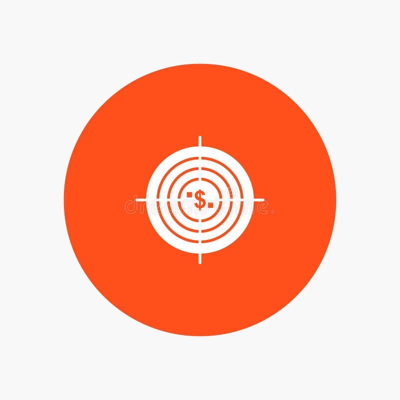 Target, Aim, Business, Cash, Financial, Funds, Hunting, Money vector illustration