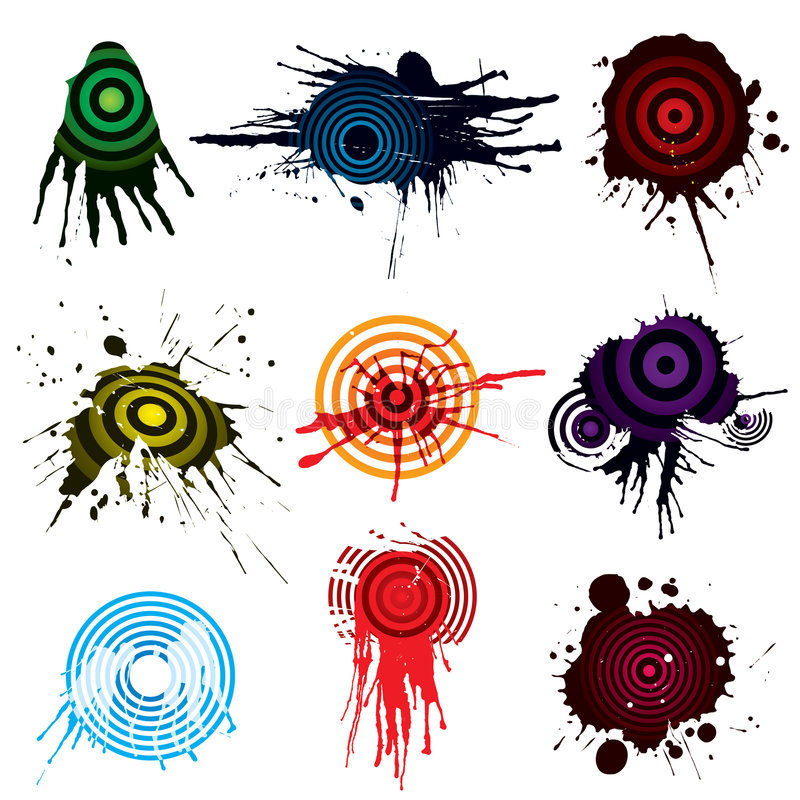 Download Target Aiming grunge stock vector. Image of accuracy, illustration - 5222183