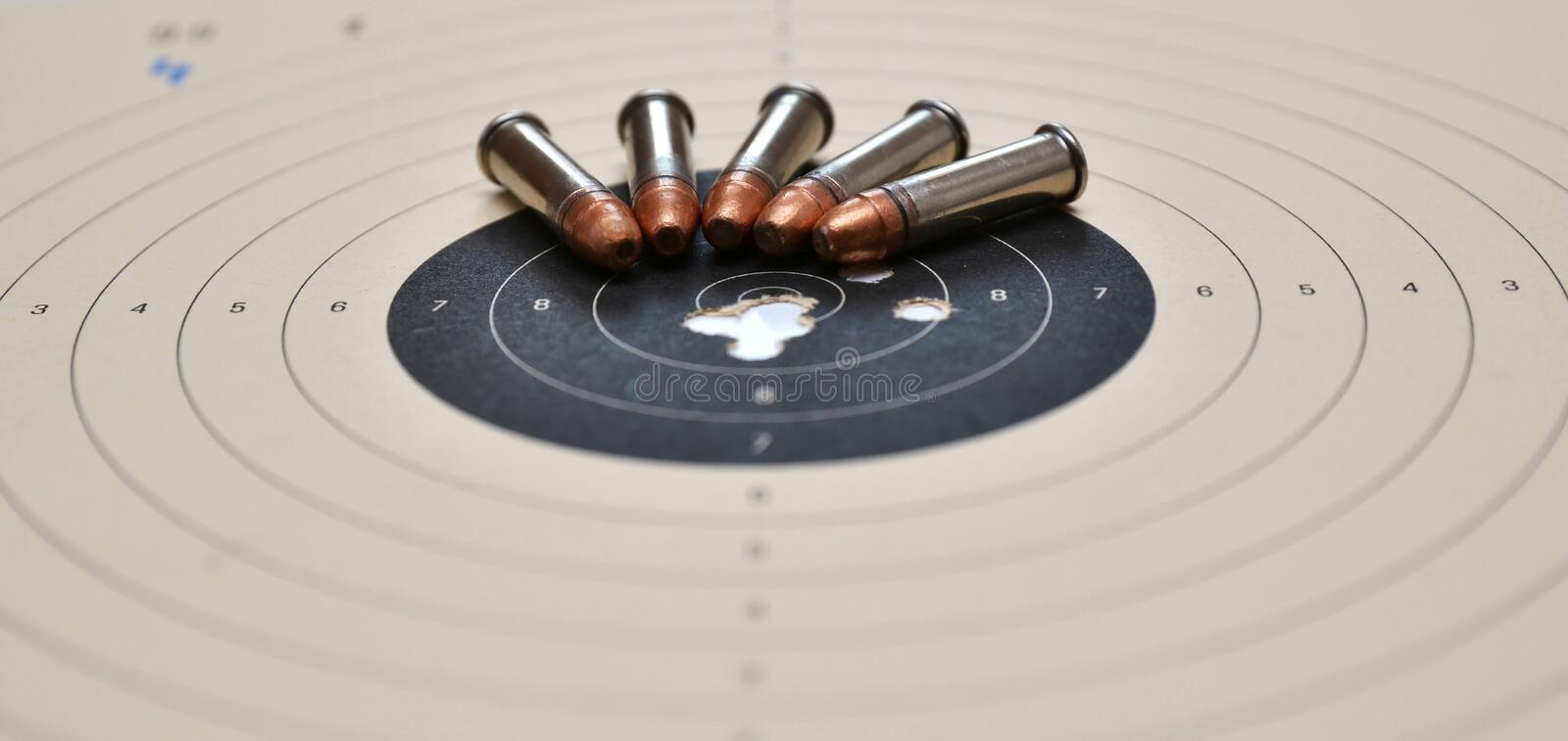 Download Target And Ammunition Stock Photo - Image: 24043090