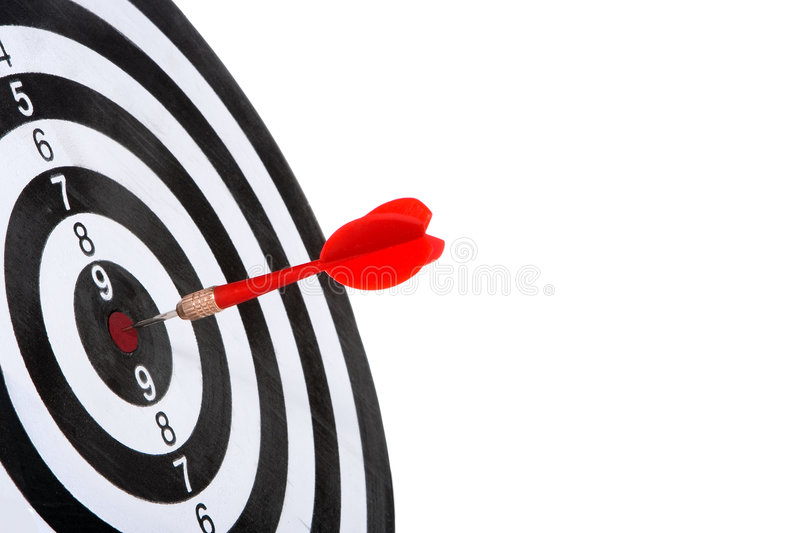 Download Target with arrow stock image. Image of archery, competition - 2500283