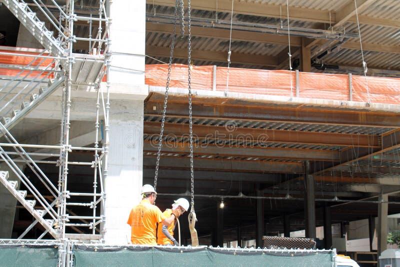 target1611_1_ betonowe budowy podłoga miejsca ściany obrazy stock