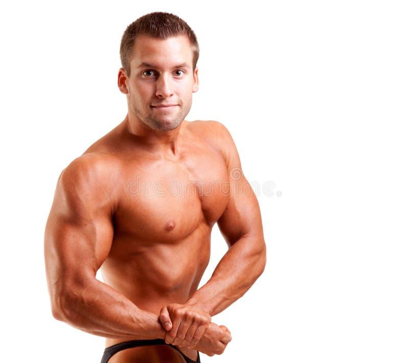 target475_0_ bodybuilder potomstwa obraz royalty free