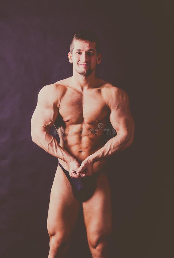 target475_0_ bodybuilder potomstwa zdjęcia royalty free