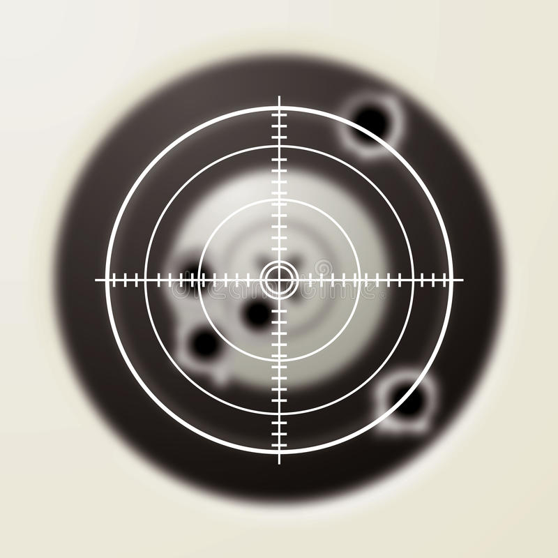 Download Target bullet stock illustration. Image of concept, icon - 12823766