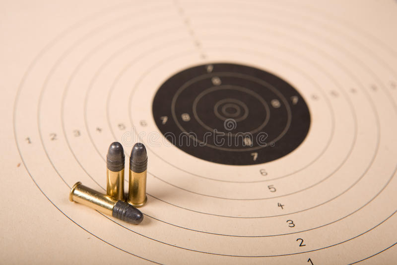 Download Target and bullets stock image. Image of black, small - 22106627