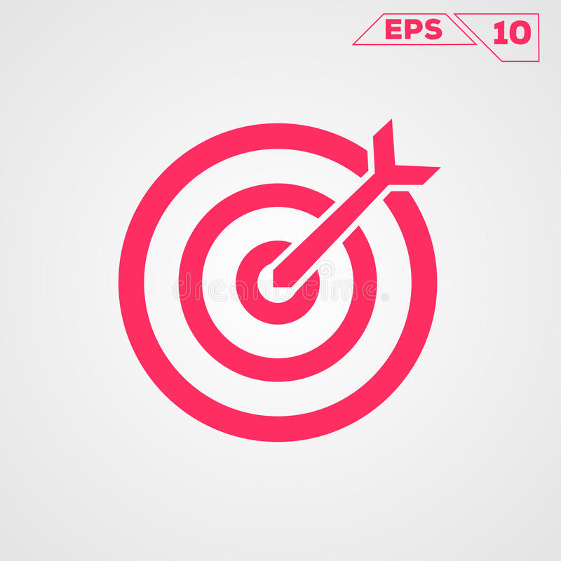 Target circle icon royalty free illustration