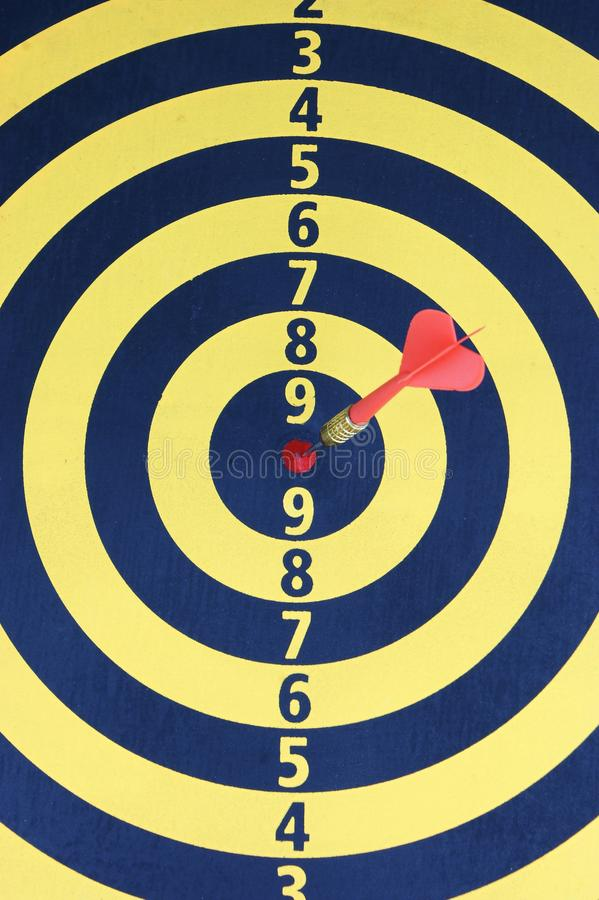 Target. For dart hurl game royalty free stock photography